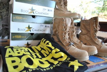 boots on campaign