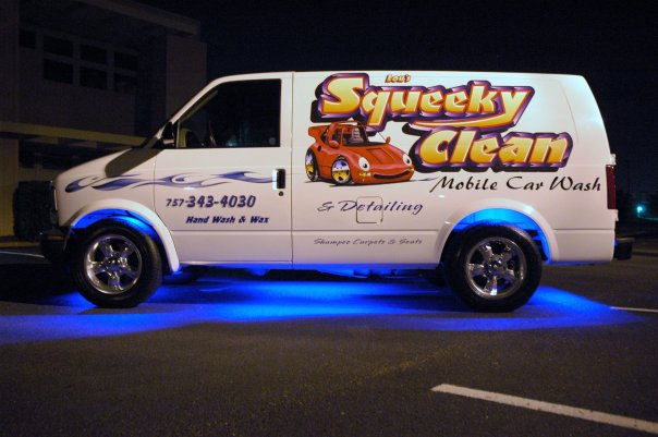 squeeky clean mobile detailing