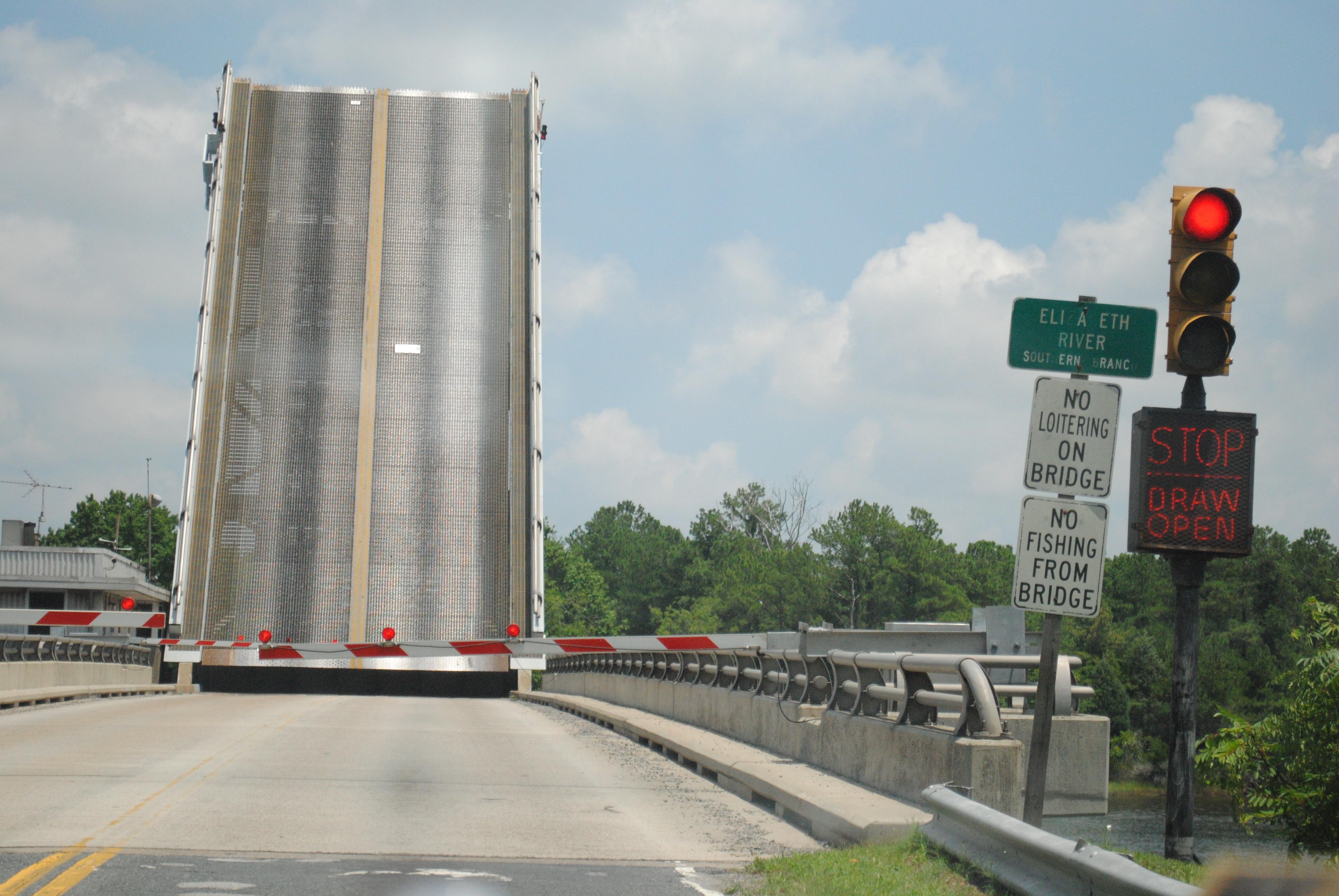 Deep creek steel bridge - chesapeake