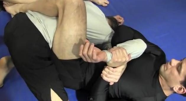 MMA Kimura Submission