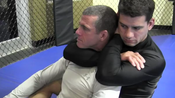 MMA Rear Naked Choke