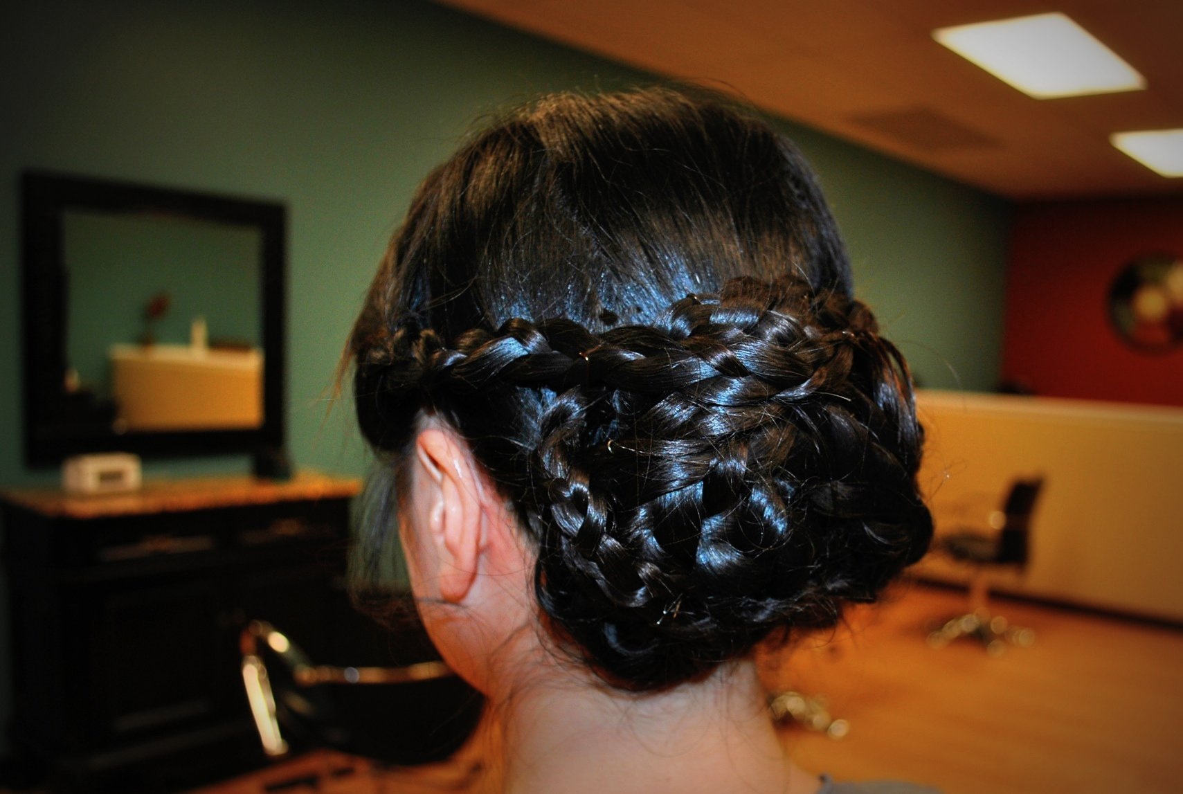 Braided Bun Simply Chic Salon