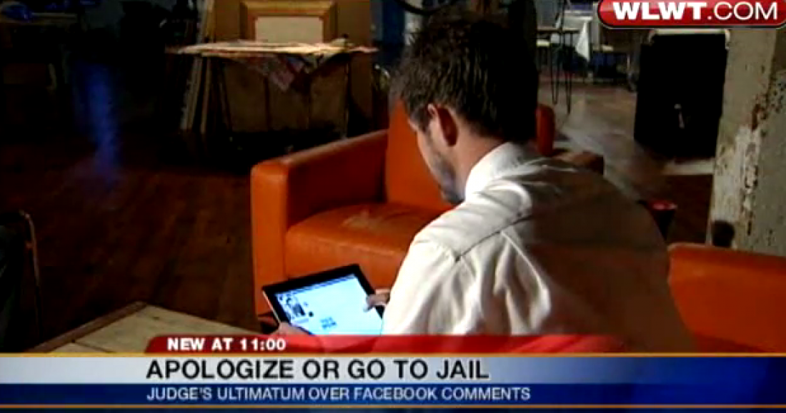 court orders man to apologize on facebook
