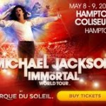 Ticket Giveaway **Closed** :  Michael Jackson- The Immortal World ..