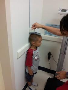 ethan 4yr doctor visit