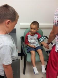 ethan doctor visit