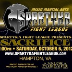 Ticket Giveaway **closed** – Spartyka Fight League IX: Sacrifice