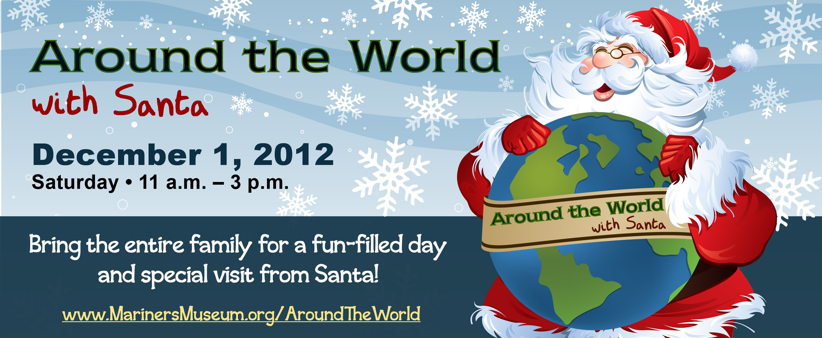 around the world with santa