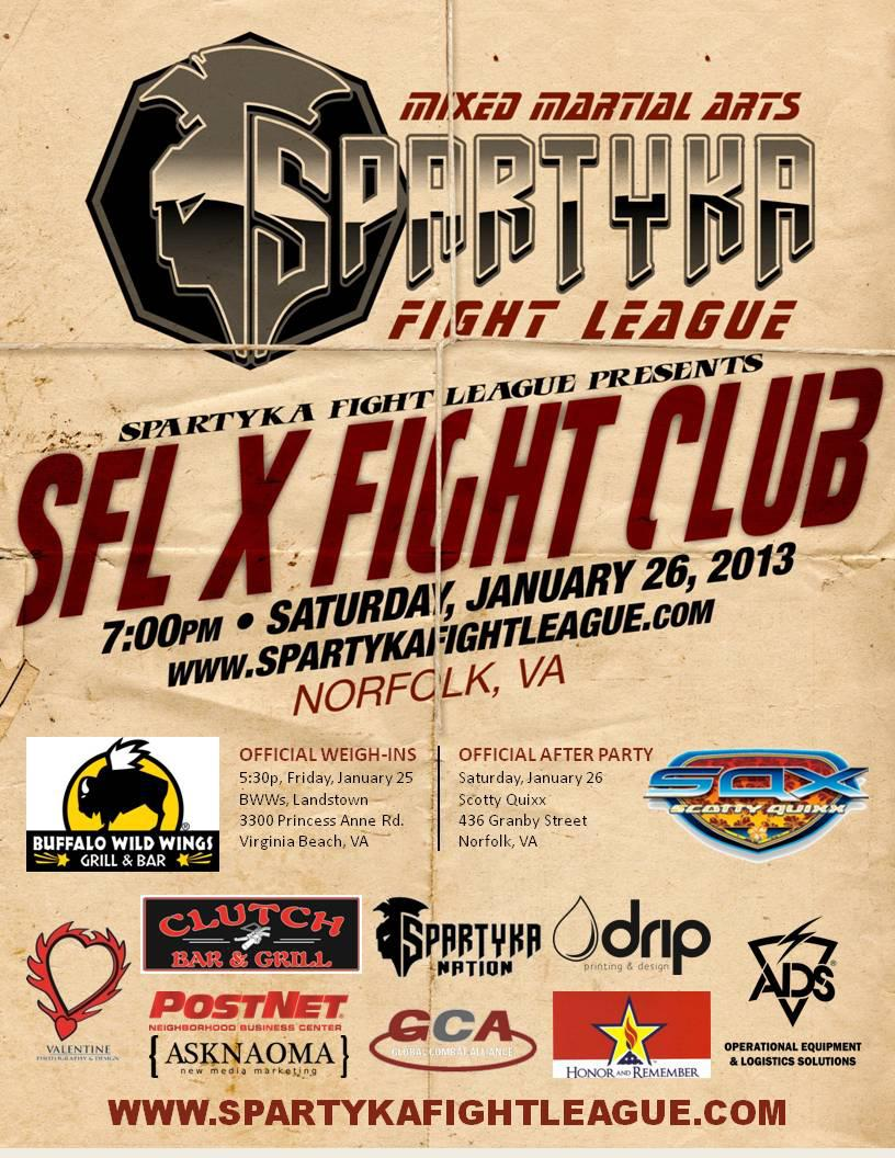Spartyka Fight League X
