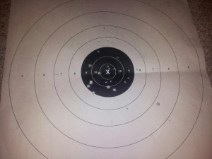 my first time shooting a gun