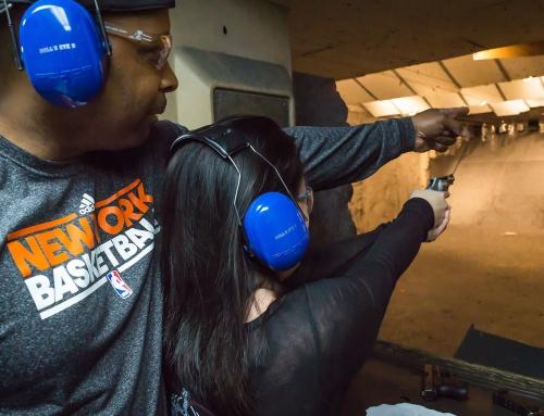 My First Time Shooting A Gun!