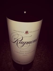 raymond vineyard & cellar cabernet sauvignon reserve
