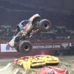 2013 Monster Jam at the Hampton Coliseum