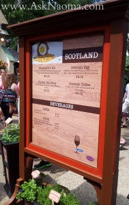Busch Gardens Food & Wine Festival : Scotland