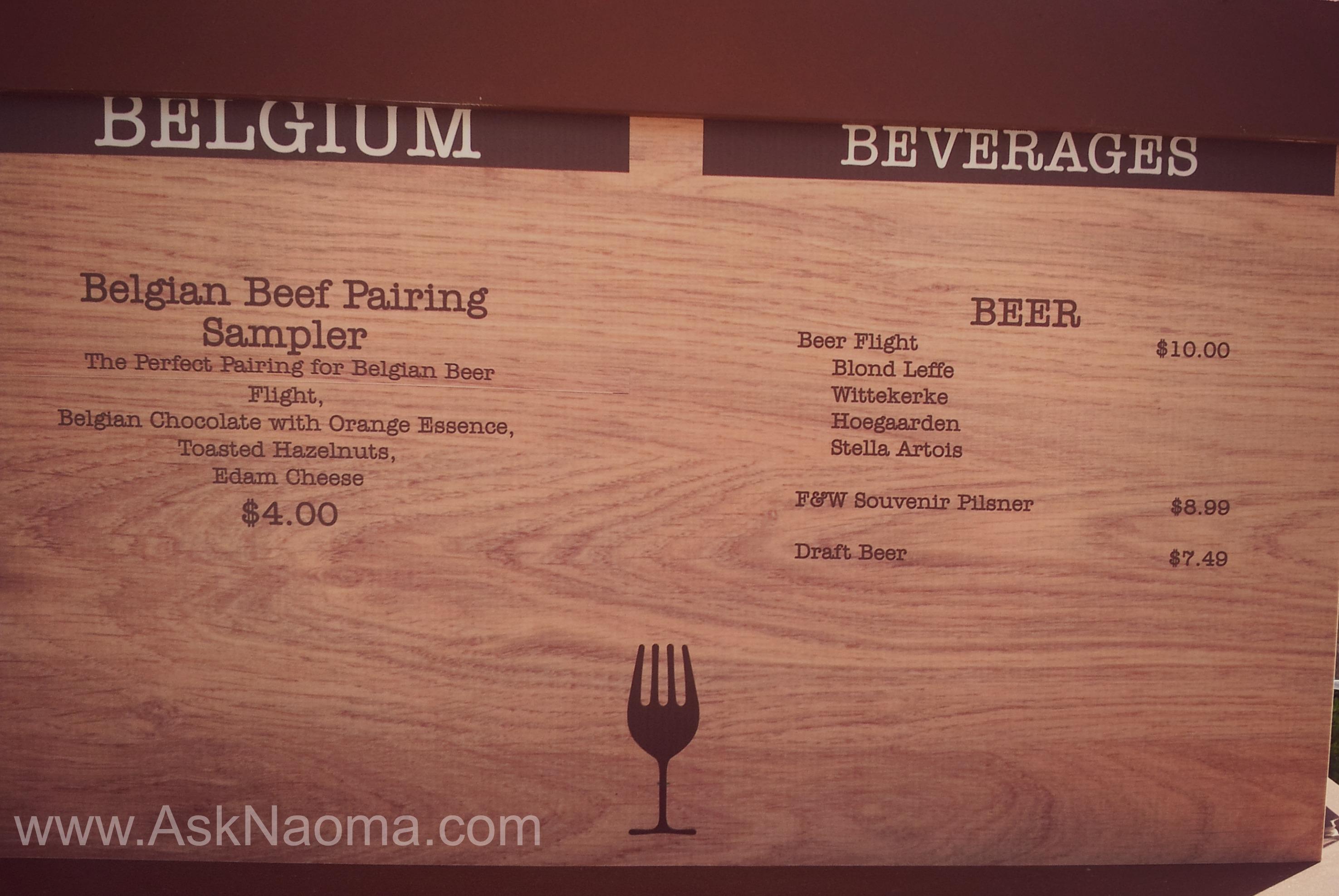 Busch Gardens Food & Wine Festival - Social Media Night - Ask Naoma