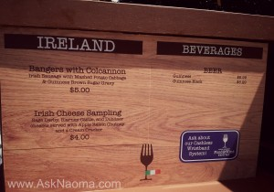 Busch Gardens Food & Wine Festival - Ireland