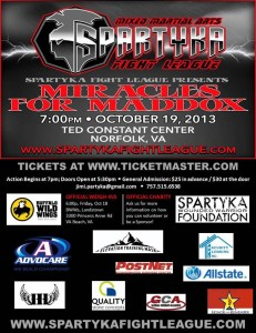 spartyka fight league, miracles for maddox