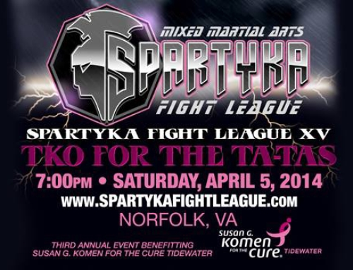 CLOSED **Ticket Giveaway** Spartyka Fight League