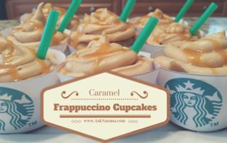 caramel frappuccino cupcakes