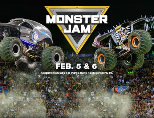 **CLOSED Ticket Giveaway** – Monster Jam at the Hampton Coliseum