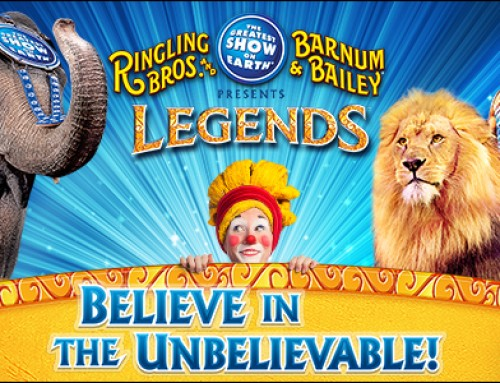 **Closed**Ticket Giveaway – Ringling Bros. and Barnum & Bailey® Presents LEGENDS