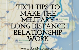 Tech tips to make the military long distance relationship work