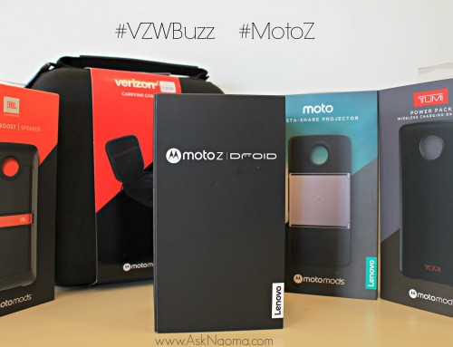Moto Mods:  phone to speaker to projector in a snap! #vzwbuzz