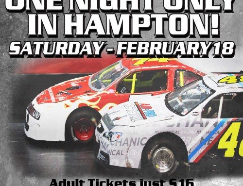 **CLOSED -TICKET GIVEAWAY – Arena Racing at the Hampton Coliseum