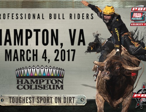 **CLOSED TICKET GIVEAWAY – Professional Bull Riders at Hampton Coliseum