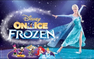 Disney On Ice Frozen hampton coliseum