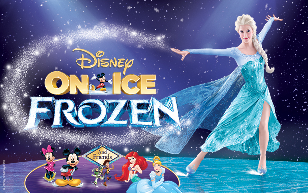 Disney On Ice Frozen hampton coliseum