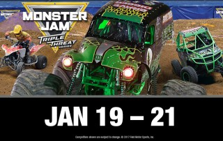 monster jam thriple threat