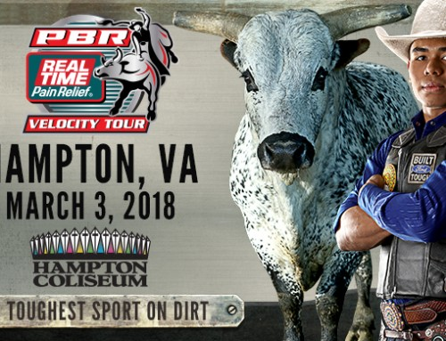 **CLOSED Ticket Giveaway – Professional Bullriders at Hampton Coliseum