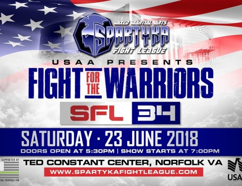 "**CLOSED**Ticket Giveaway – Spartyka Fight League 34 ""Fight For The Warriors"""